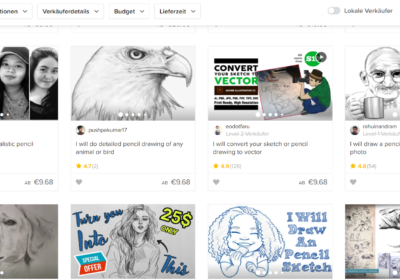 Fiverr Screenshot